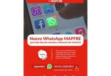 mapfre whatsapp consultas denuncias siniestros asegurados