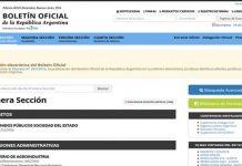 funcionarios ssn boletín oficial legislación