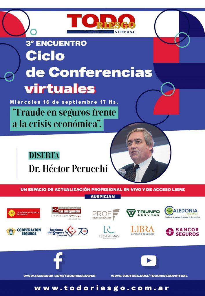 tercera charla virtual hector perucchi ciclo todo riesgo virtual