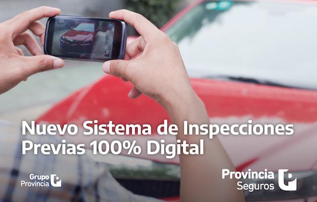 provincia seguros nuevo sistema inspeccion digital automotores
