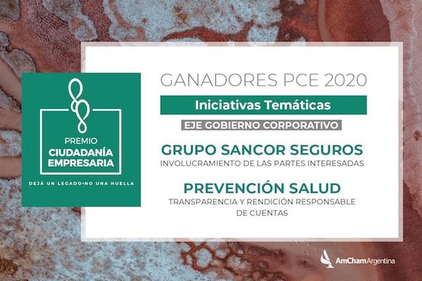 grupo sancor seguros prevencion salud premio ciudadania empresaria