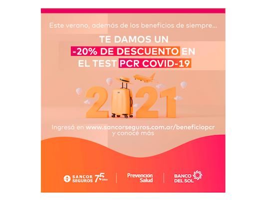 grupo sancor seguros descuentos test coronavirus
