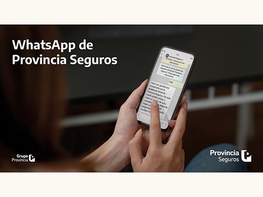 provincia seguros whatsapp canal atención