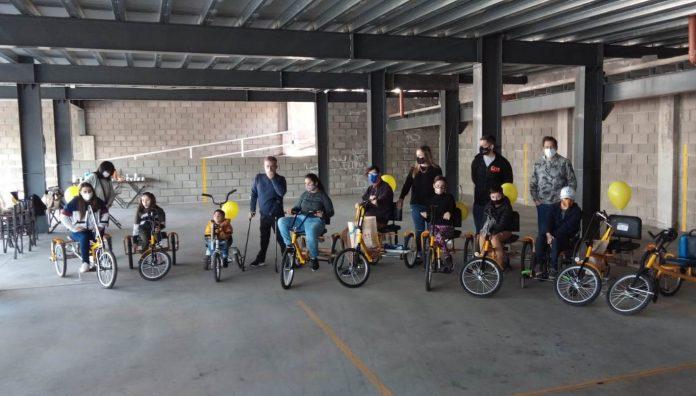 rus ligato bicicletas adaptadas fundación jean maggi