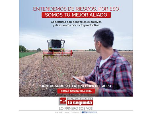 la segunda hectáreas aseguradas liderazgo agro